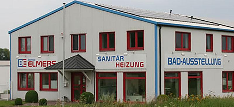Das Firmengebäude von Elmers