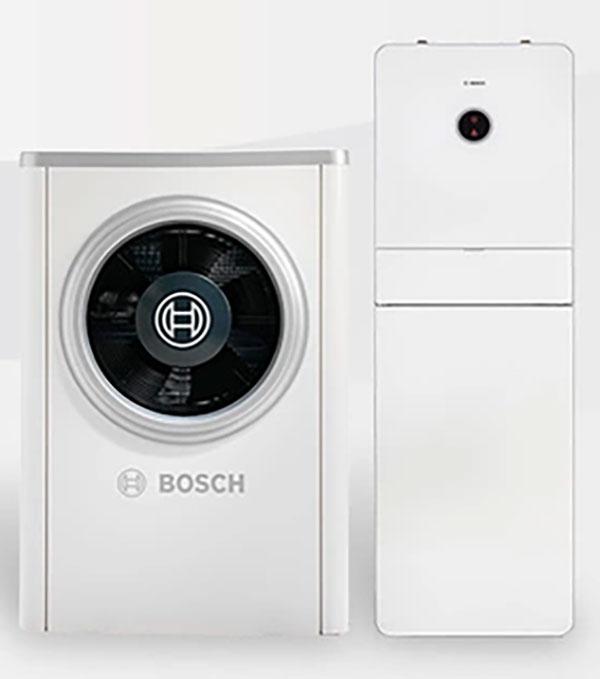 Wärmepumprn von Bosch